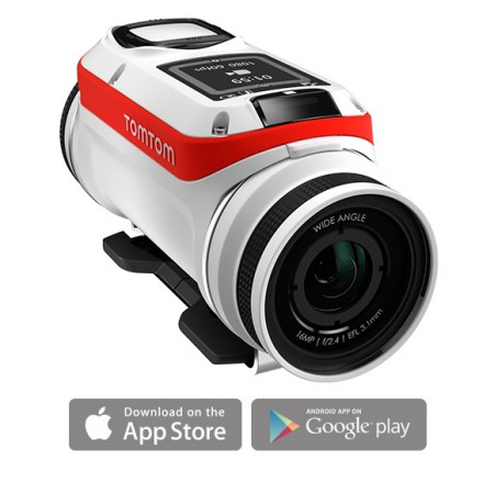 TomTom Bandit Action Camera - with App Store capability