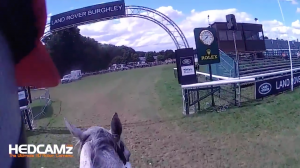 Paul Tapner Burghley Horse Trials - Should helmet cameras be banned in equestrian sports?