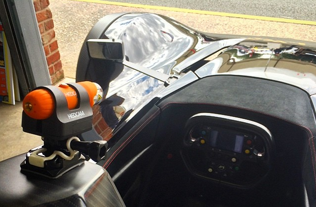 HEDCAM Ten80 on the BAC Mono driven by Oli Webb