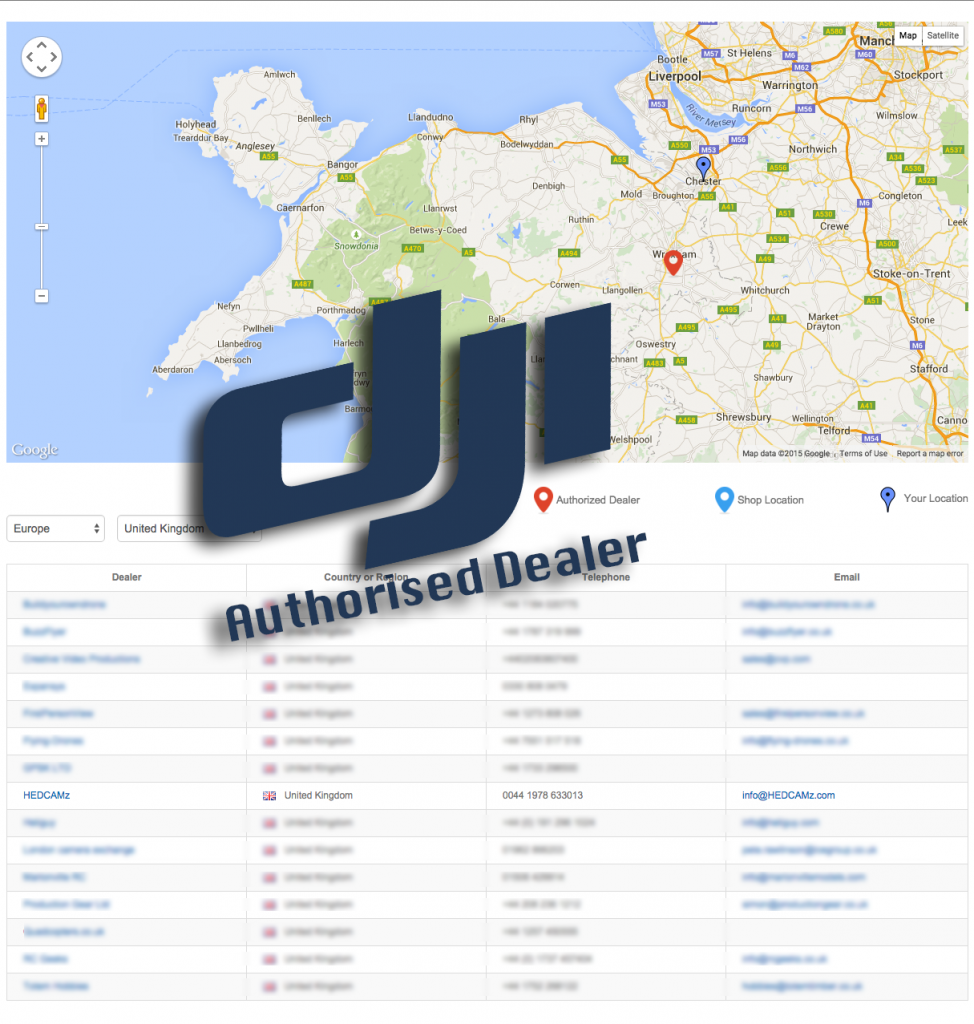 HEDCAMz DJI Authorised Dealer
